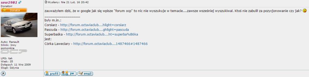 Ktoś nie zabulił za pozycjonowanie Forum OCP.png